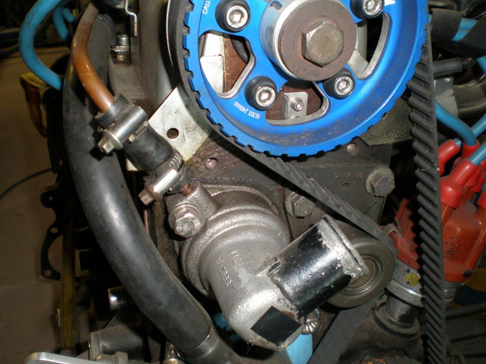 Timing Belt Replacement Ford 2 0 Sohc S8 S8a S8at D10